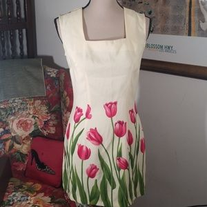 R- Wear Rampage clothing co. Floral dress. Size 5